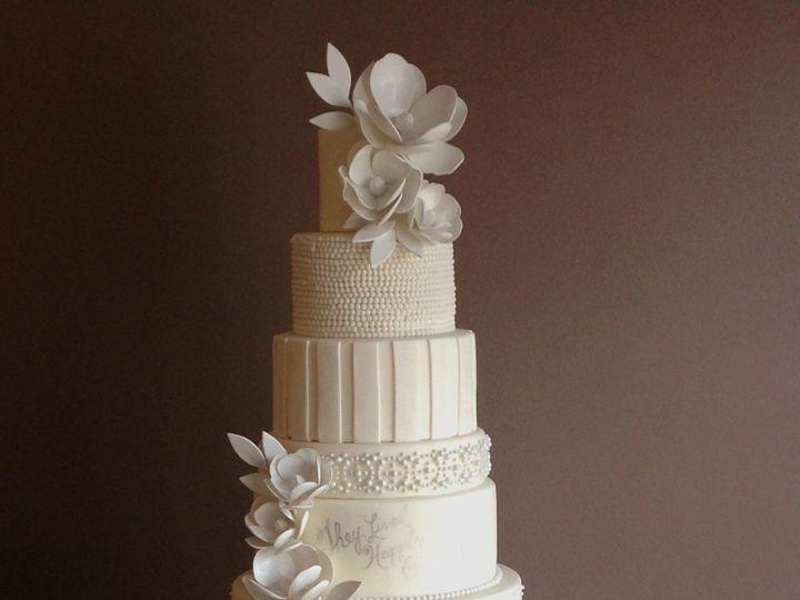 Tmx 1433175561362 New White Cake Ann Arbor, MI wedding cake