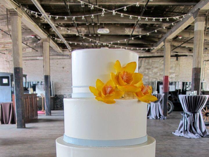 Tmx 1433175820387 Gumpaste Flowers Daffodils Ann Arbor, MI wedding cake