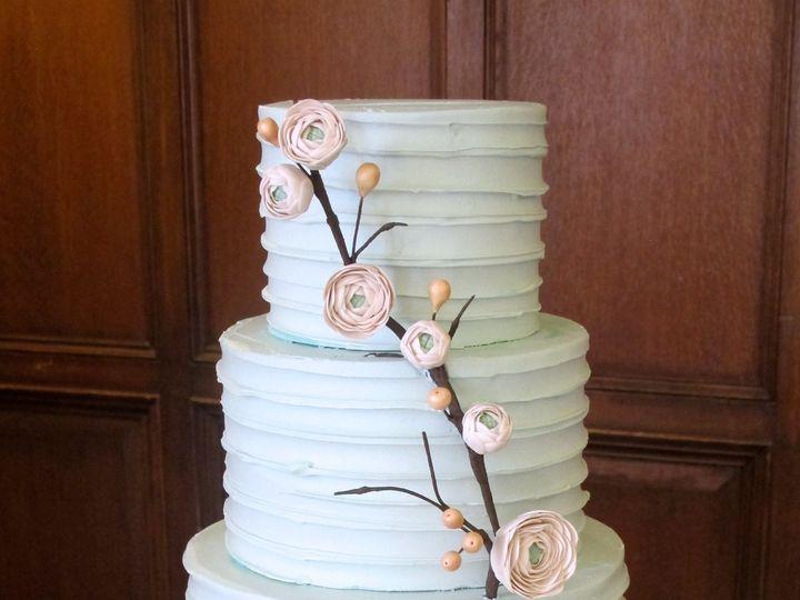 Tmx 1433175882566 Rustic Anderson Ranunculus Branch Ann Arbor, MI wedding cake