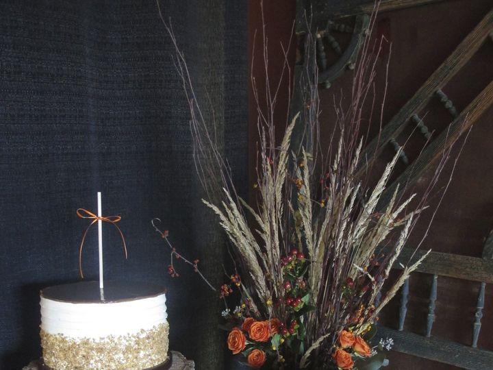 Tmx 1433176014484 Fall Rustic Cake Table 9.21.13 Ann Arbor, MI wedding cake