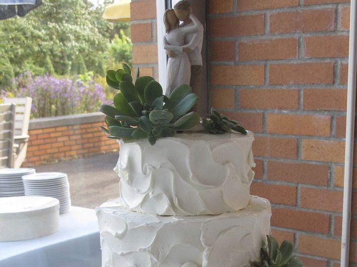 Tmx 1433176365184 Rustic And Succulents Ann Arbor, MI wedding cake