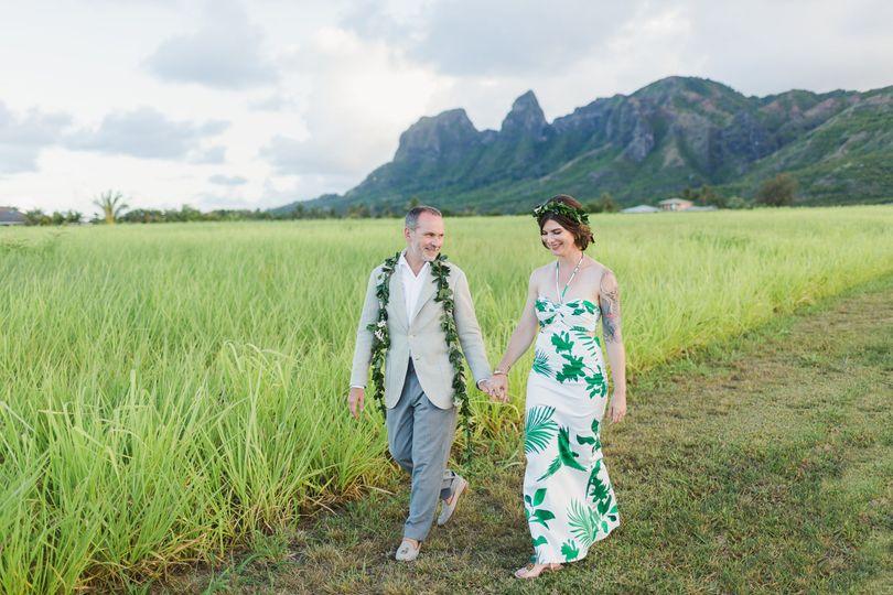 Lovely couple in Kauai