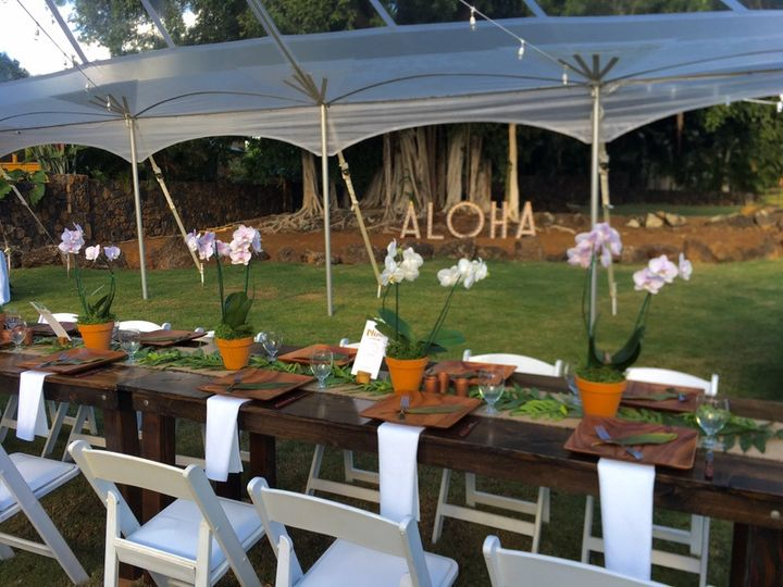 Backyard banquet