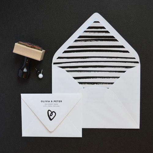 Tmx 1442863404739 Lovestruckenvelopes Charlotte, NC wedding invitation