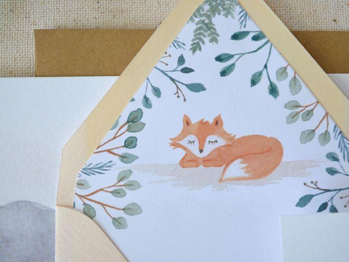 Tmx Watercolor Fox Illustration 51 779072 158621176676997 Charlotte, NC wedding invitation