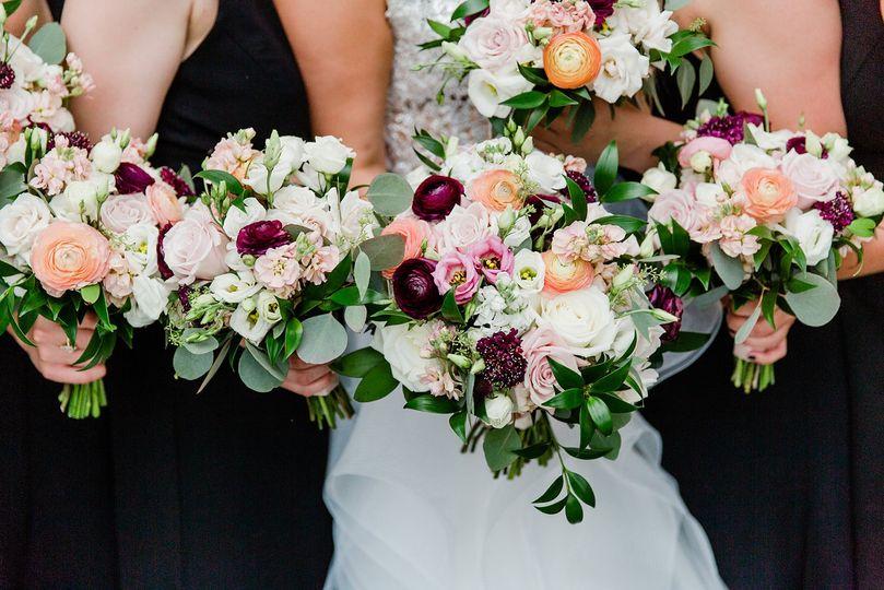 Bride & Bridesmaids Bouquets