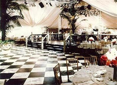 Add elegance to your reception with the addition of one of our new frame style tents.