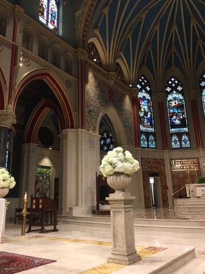 Cathedral decor