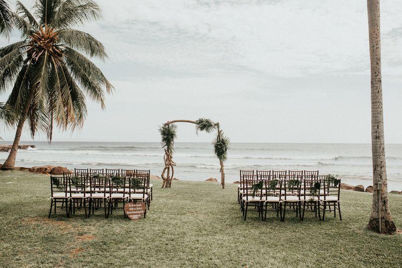 Beautiful ceremony location