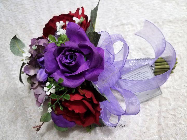 Violet blooms