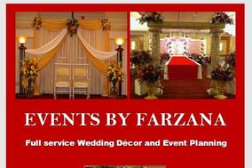 EVENTS BY FARZANA