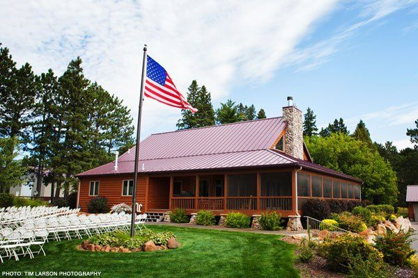 Pine Peaks Retreat House at Pine Peaks Event Center a member of Wedding Wire, The Knot, Brainerd...