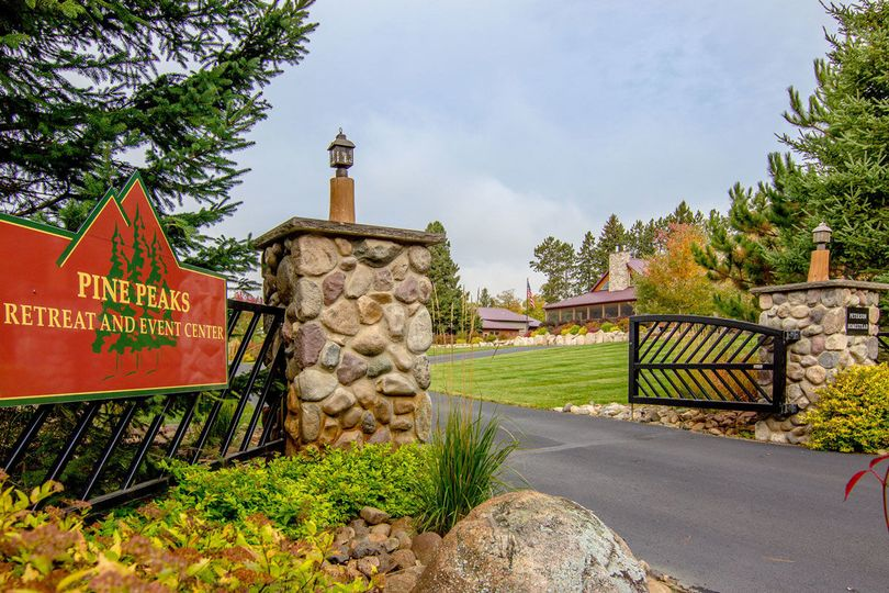 Pine Peaks Event Center entrance