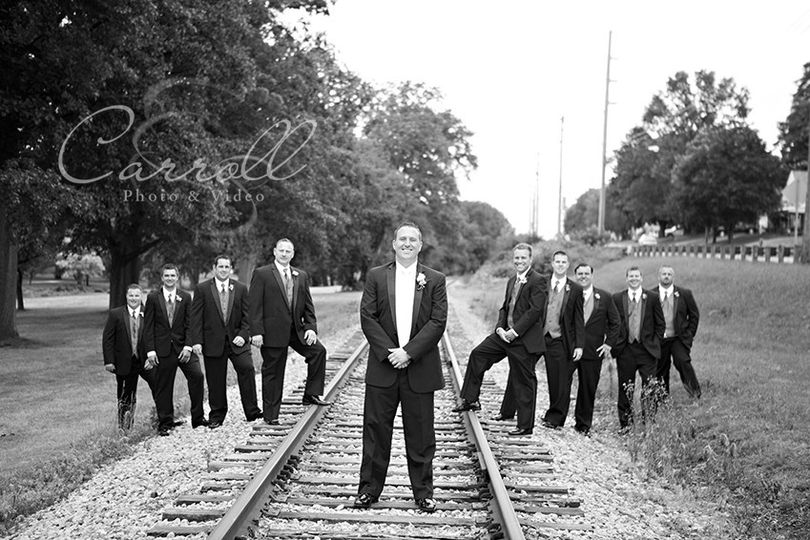 800x800 1418091500371 groomsmen picture on tracks
