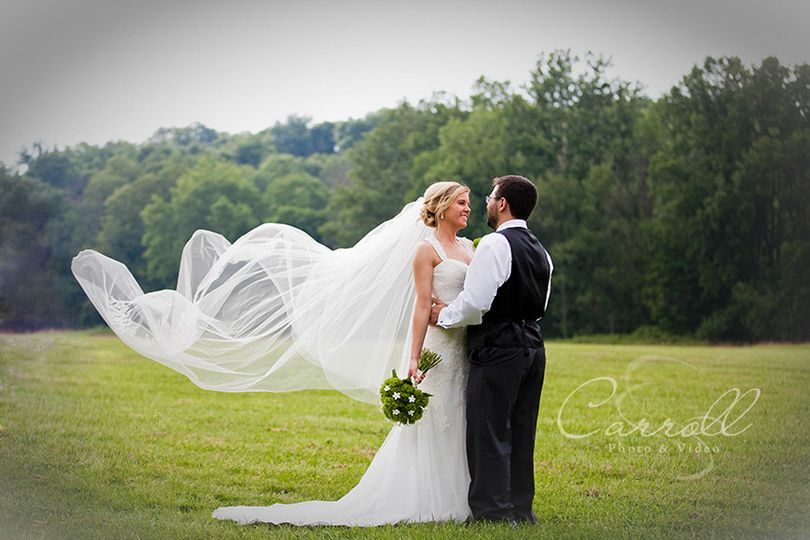 elegant wedding photograph