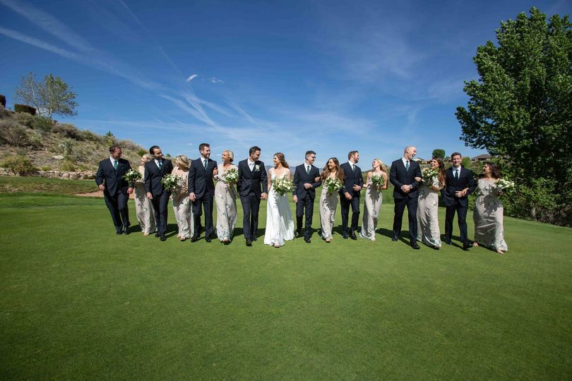 The Bridal Party Hole #8