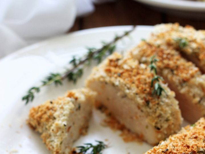 Tmx 1438990780826 Baked Parmesan Herb Crusted Chicken 13 Sterling Heights wedding catering