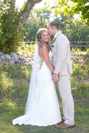 Amazing shot with bride