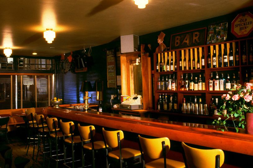Red Dot Bar, seats 12,