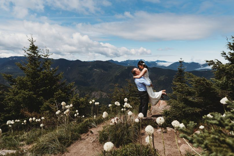 Elopement mt Rainier