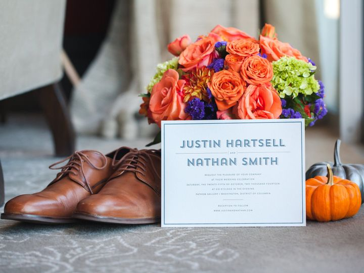 Tmx 1461859817874 Justin And Nathan Invite Full McLean, District Of Columbia wedding invitation