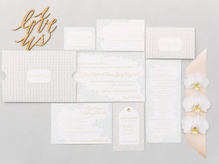 Tmx 1461859906487 Kelsey Thompson Mint McLean, District Of Columbia wedding invitation