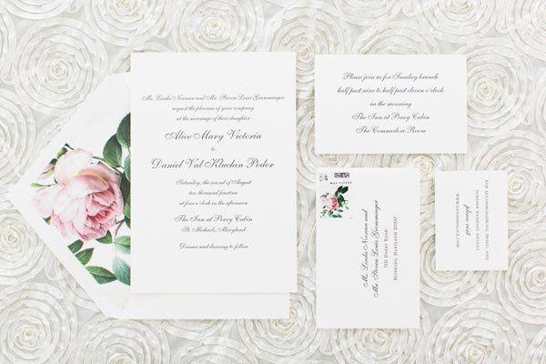 Tmx 1461860126661 Southern Weddings Invitation McLean, District Of Columbia wedding invitation