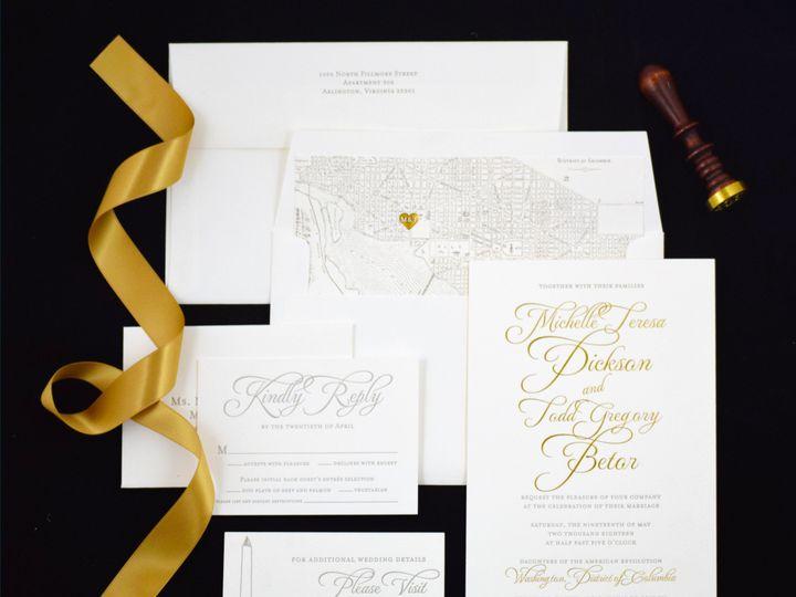 Tmx 1529365876 Ed0c67c76b604422 1529365873 0ca1ed4b31654fa8 1529365868100 3 DPT Dickson 3 McLean, District Of Columbia wedding invitation