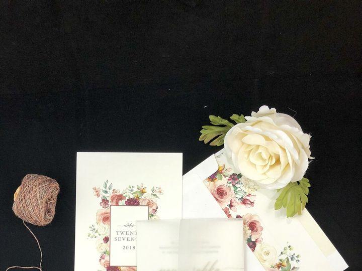 Tmx 1531527352 176a38eee926b260 1531527350 A1ee50b54e980627 1531527350508 2 Image2  002  McLean, District Of Columbia wedding invitation