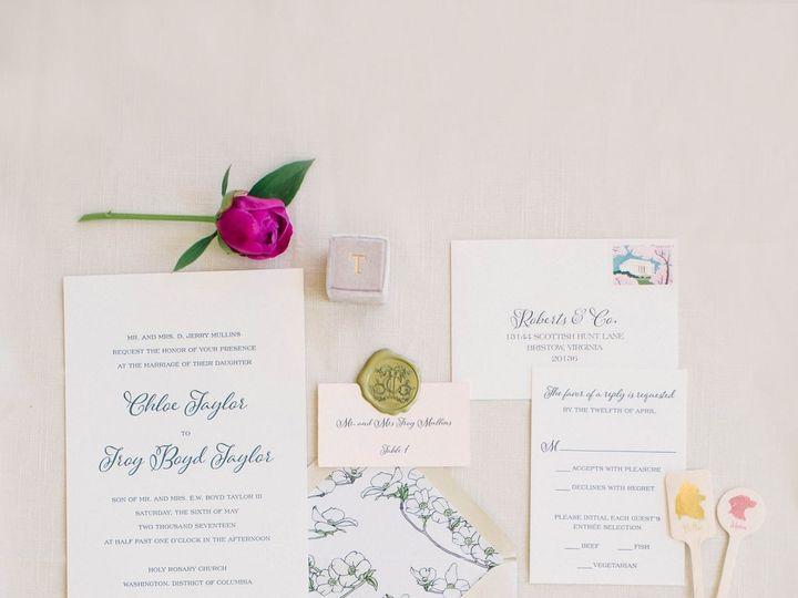 Tmx 1536416415 Ad7e4e20dd738cc0 1536416413 Ba419e86da270ac0 1536416412762 1 Navy And Pink Wedd McLean, District Of Columbia wedding invitation