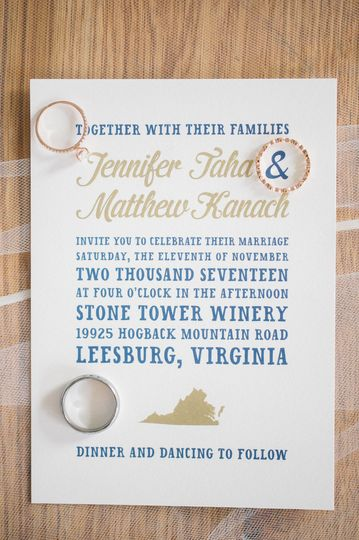 Fun Virginia Wedding