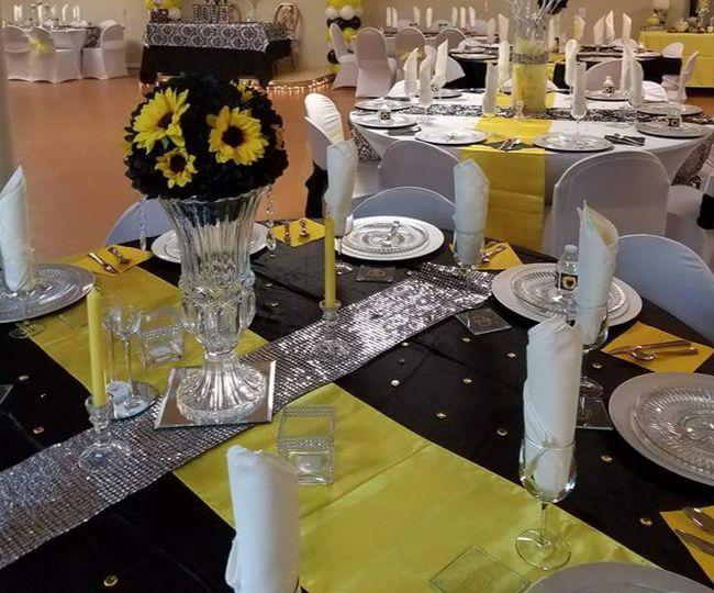 Sun flower wedding