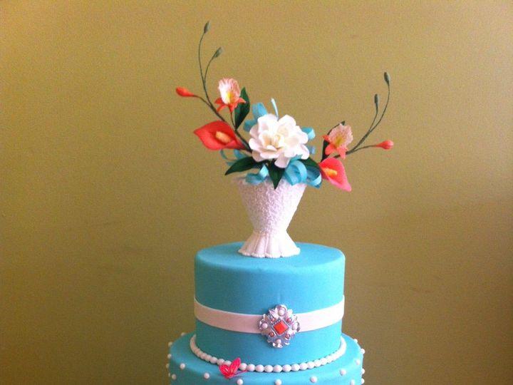 Tmx Blue Cake 51 941272 Saint Petersburg, FL wedding cake