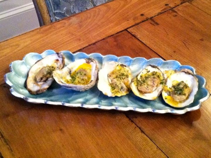 Oyster dish