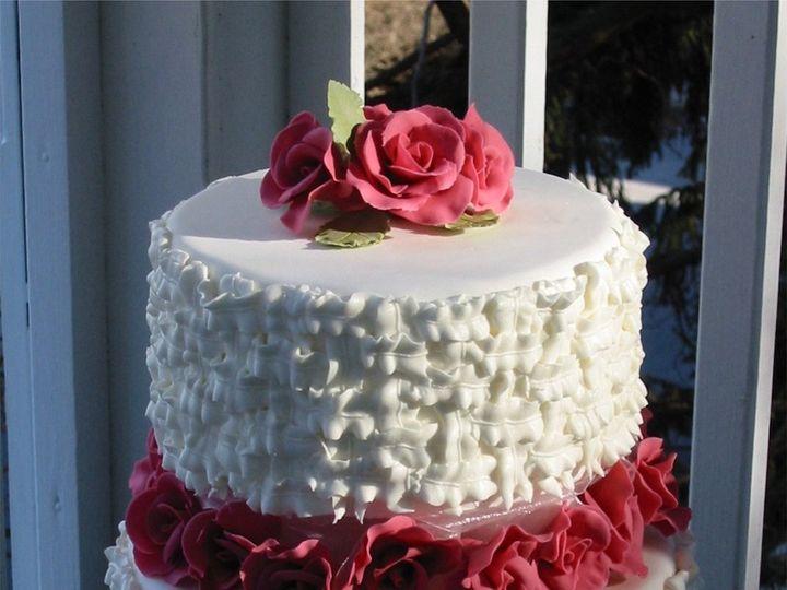Tmx 1357560013703 Basketweave Atlantic Highlands wedding cake