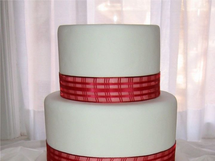 Tmx 1357560160887 Redribbon Atlantic Highlands wedding cake