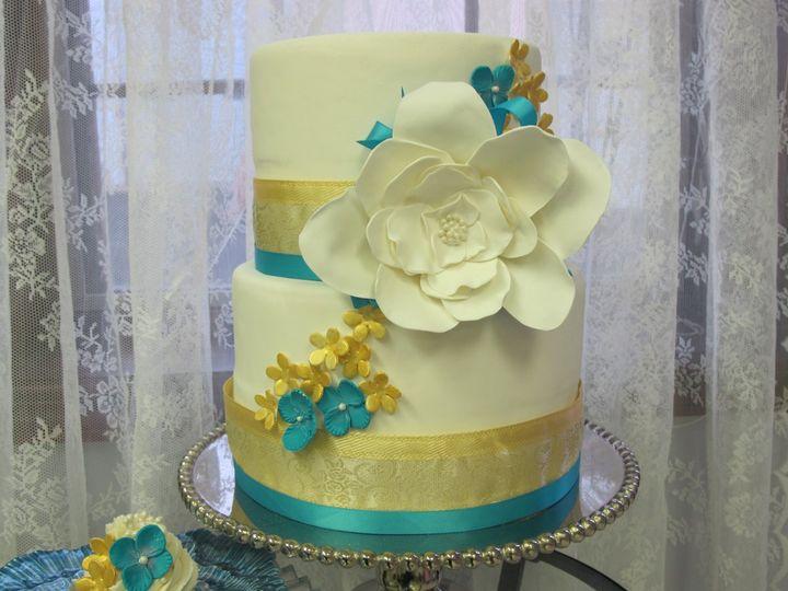 Tmx 1357590499819 IMG3874 Atlantic Highlands wedding cake