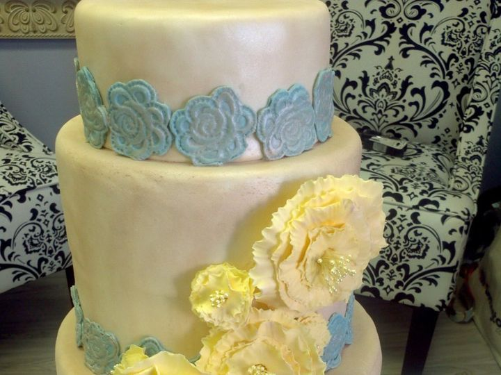 Tmx 1357590519530 IMG20120130140819 Atlantic Highlands wedding cake