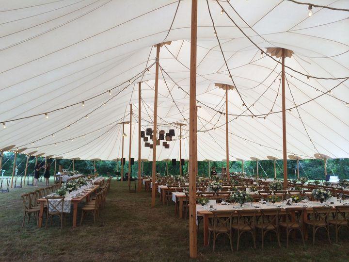 Tent's interior