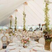 Sperry Tents reception setup