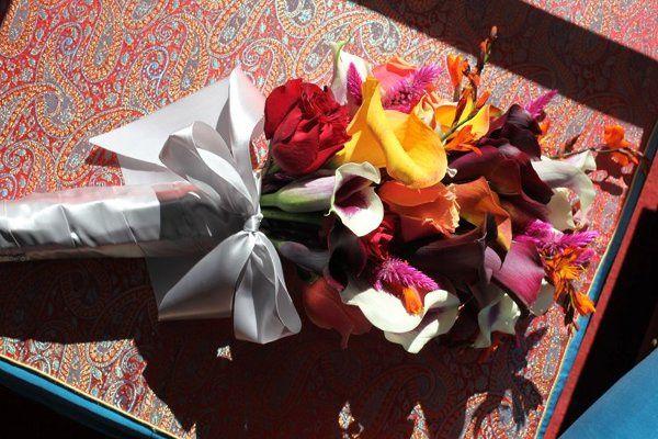 Presentation style bouquet