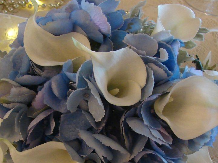 Tmx 1360271710030 Bluehydrangeaandminiwhitecallalilies North Falmouth wedding florist
