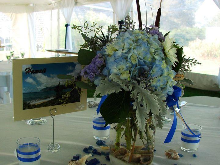 Tmx 1360273203106 SummerHydrangeavase North Falmouth wedding florist