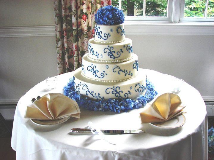 Tmx 1360273390414 CakeDecorationHydrangea North Falmouth wedding florist
