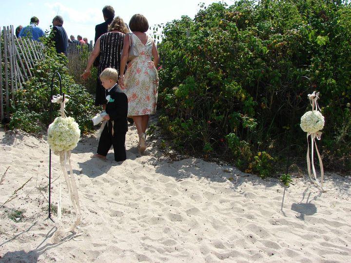 Tmx 1360273436878 HydrangeaFlowerBallsforBeachCeremony North Falmouth wedding florist