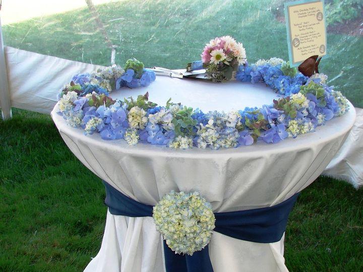 Tmx 1360273652845 Ringofhydrangeaforcake North Falmouth wedding florist