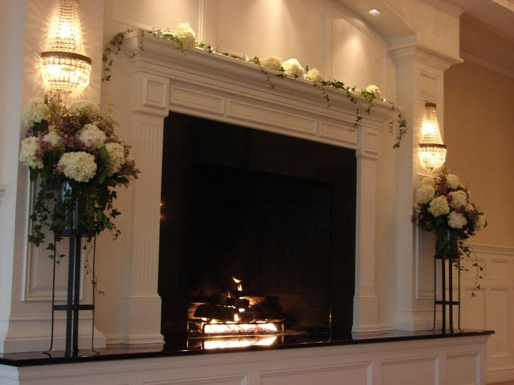 Tmx 1360273736833 FireplaceMantelandVasesIndianPond North Falmouth wedding florist