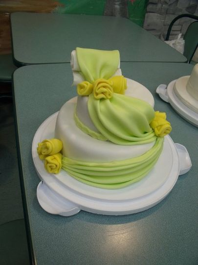 This cake could be used for any occasio. Covered with fondant