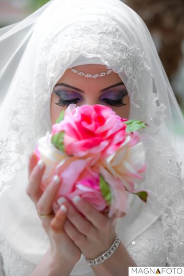 orlando wedding bride white dress magnafoto
