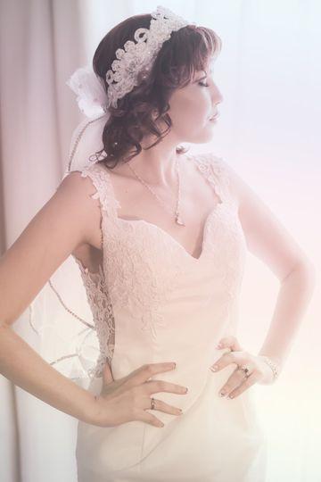 lake mary wedding coverage bride white dress